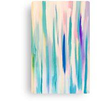 Aqua Velvet Canvas Print