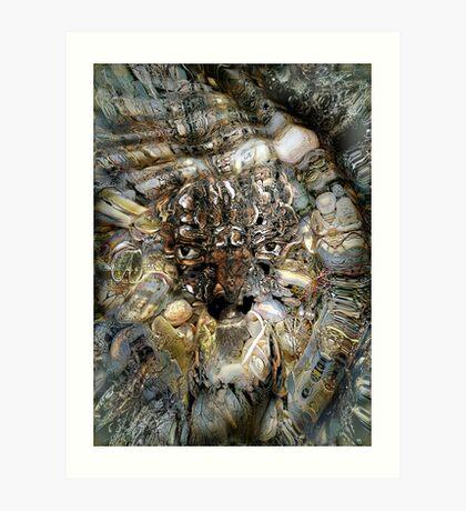 Poseidon- God of the Sea, Earthquakes, Horses, a Shapeshifter Art Print