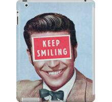 Keep Smiling iPad Case/Skin