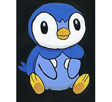 Piplup the Penguin Pokemon Photographic Print