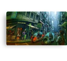 Green Road Canvas Print