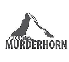 Mount Murderhorn Photographic Print
