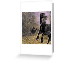 Horse 9 Greeting Card