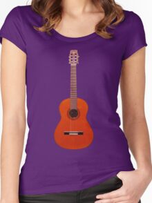 tradicional española Women's Fitted Scoop T-Shirt