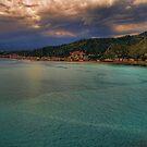 Vista panoramica della baia di Naxos by Andrea Rapisarda
