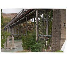 Lower Shotover Bridge Poster