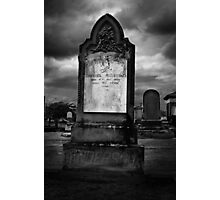 Maitland Cemetery #1 Photographic Print