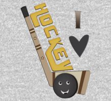 Hockey Lover's T-Shirt by Jamie Wogan Edwards