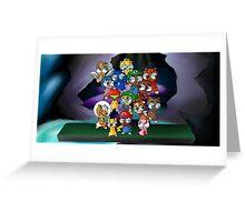 Super Smash Hams Greeting Card