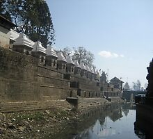TEMPLES OF PASHUPATINATH by uglyz
