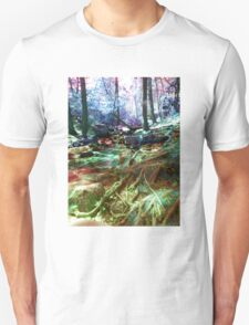 psychedelic forest T-Shirt