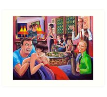 All These Dashed Parties - The bright young things of New York Art Print