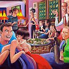 All These Dashed Parties - The bright young things of New York by Alex e Clark