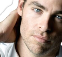 Chris Pine Sticker