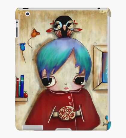 owl and friends iPad Case/Skin