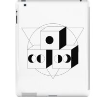 The Moon, The Triangle and The Cube iPad Case/Skin