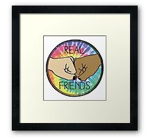 Real Friends Framed Print