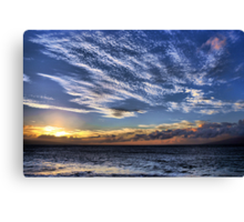 Royal Sunset Canvas Print