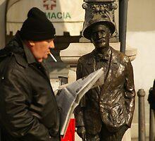 James Joyce gentle by Sturmlechner
