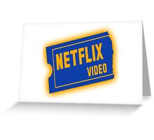 Nflix Greeting Card