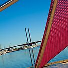 Stripe of Pink, Docklands by Stephen Greaves