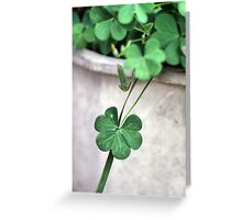 A Drop of Luck Greeting Card