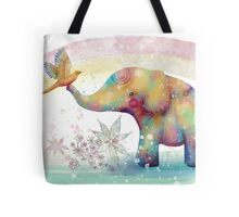 The Indigo Elephant Tote Bag