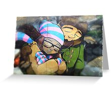 It's cold outside! Greeting Card