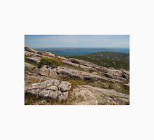 Rocky Coastal Terrain, in Maine  Unisex T-Shirt