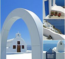 Colours of Greece by HelenBeresford