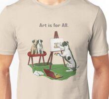 Art is for All. Unisex T-Shirt