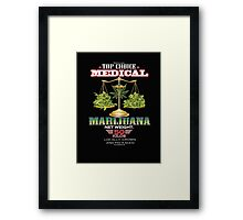 Triple A Medical Marijuana Framed Print