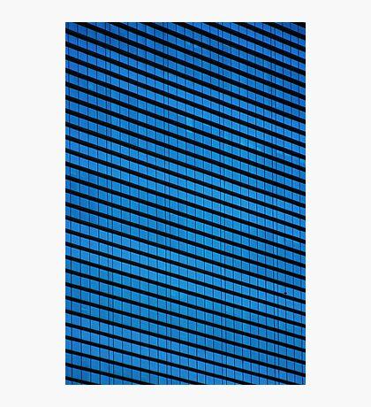 Corporate blues Photographic Print