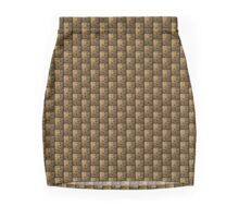 gold pattern for print on textile gifts and more Mini Skirt