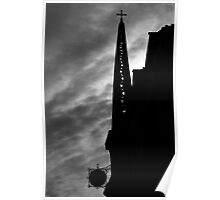 Eglise de l'Ile Saint-Louis Poster