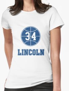 JESUS SHUTTLESWORTH 34 LINCOLN HIGH SCHOOL BASKETBALL Womens Fitted T-Shirt