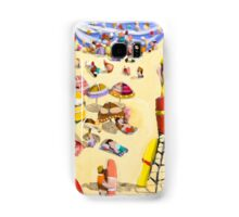 Between the flags Samsung Galaxy Case/Skin