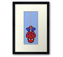 8bit Spidey Framed Print