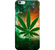 Attack of the Space weed iPhone Case/Skin