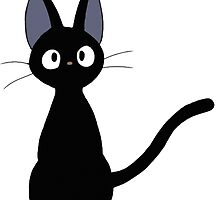 Jiji the cat by kris10shearer