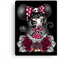 Mini Mouse Canvas Print