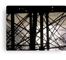 Eastbourne Pier Abstract-ish Canvas Print