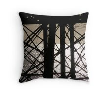 Eastbourne Pier Abstract-ish Throw Pillow