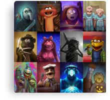 Muppet Maniacs Series 1 Canvas Print