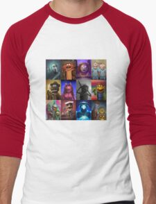 Muppet Maniacs Series 1 Men's Baseball ¾ T-Shirt