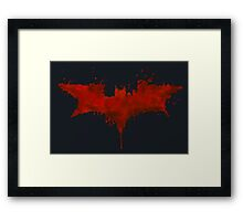 Death of the Knight Framed Print