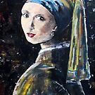 &quot;The girl with the pearl earring&quot; (after Jan Vermeer) by Elizabeth Kendall