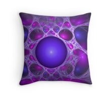 Fun with purples Throw Pillow