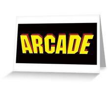 Arcade Retro Greeting Card