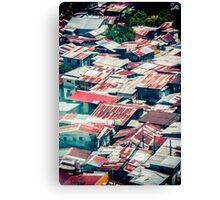 Tin Roofs Canvas Print